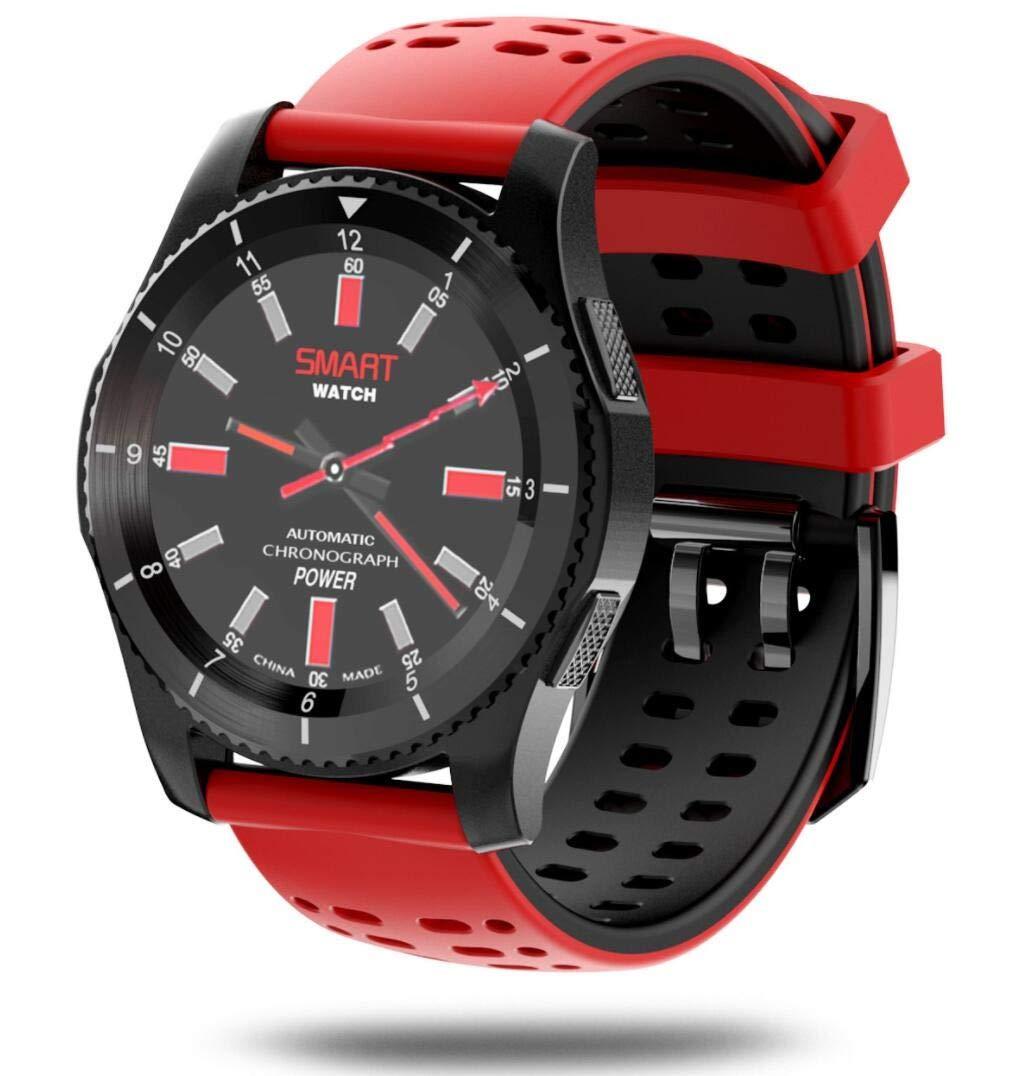 CYGGJ Smart Watch Round IPS Pantalla táctil Bluetooth smartwatch ...