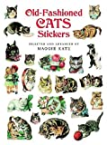 Old-Fashioned Cats Stickers and Seals, , 0486286495