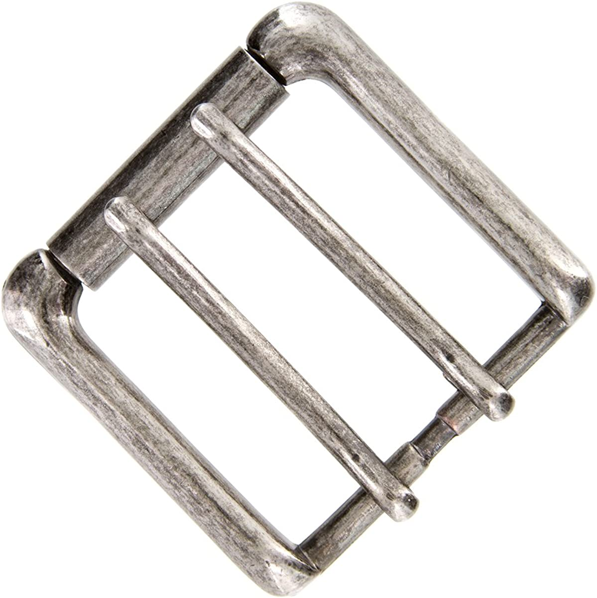 """Classic Single Prong Replacement Roller Belt Buckle Fits 1-1//2/"""" wide"""