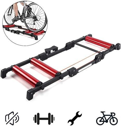ZY Rodillo Bicicleta Plegable Cubierta Trainer estación de ...