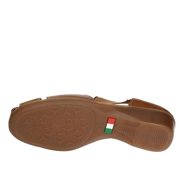 Ie8050 Amazon Mocassino Cinzia Scarpe it E Donna Soft 004 Cuoio 39 1PSOZq