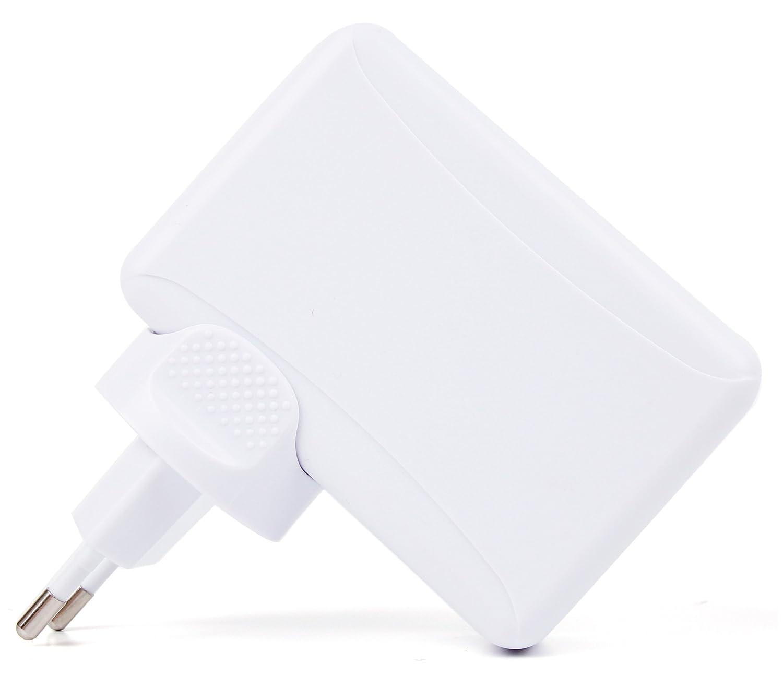 DURAGADGET Chargeur Secteur Multi-Ports USB de 4,1A Charge Rapide avec fusible et Circuit de s/écurit/é int/égr/é pour Montre connect/ée Garmin Forerunner 630 230 GPS Sports 235 735XT
