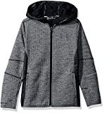 Under Armour Boys' Swacket FZ,Black /Black, Youth Small