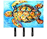 Caroline's Treasures MW1150TH68 Sand Dance Turtle Leash or Key Holder, Large, Multicolor