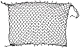 Car Pet Net/Travel Dog Barrier Will Keep Your Puppy Safely in Back Seat While Driving 54 x 42 inches