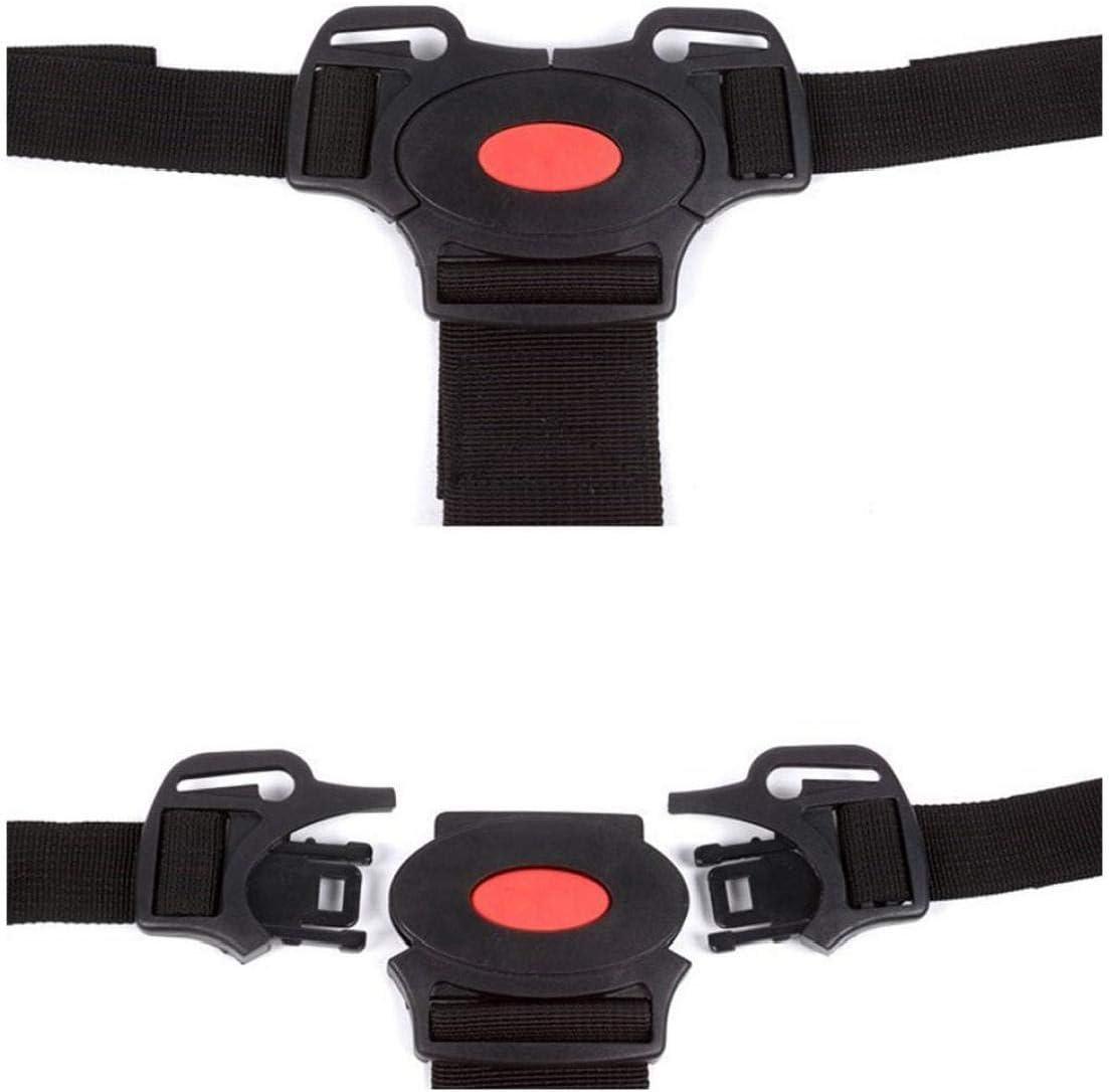 rot hvxjxk Kinderwagen Harness Sichere Gurt 5-Punkt-Gurt F/ür Kinderwagen Hochstuhl Kinderwagen-Buggy-Kind-Kind-Kinderwagen Sicher G/ürtel Halter