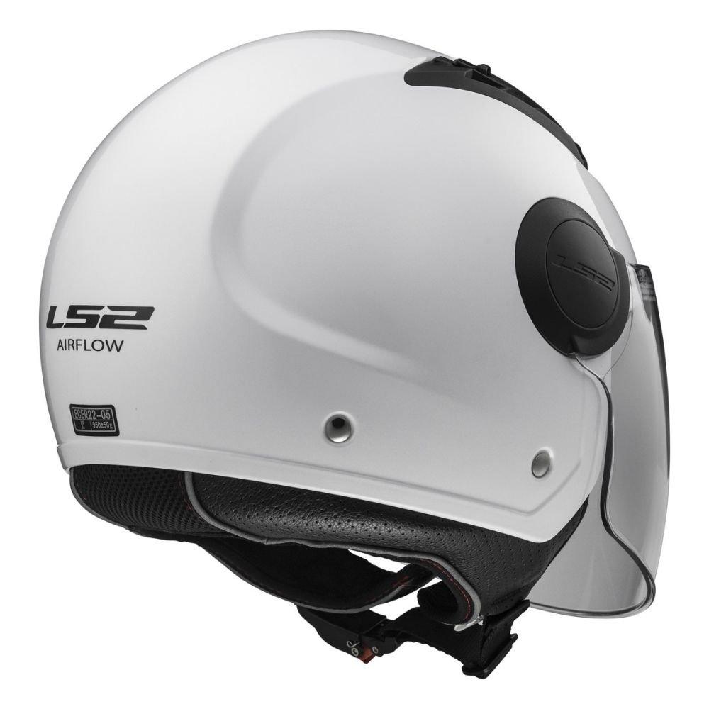 LS2-305625011L//162 Open face jet helmet AIRFLOW L OF562 SOLID