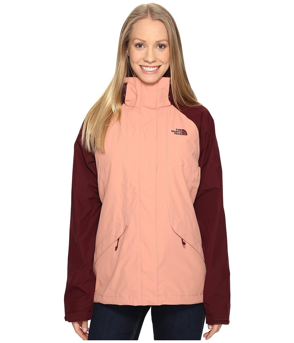pink Dawn Deep Garnet Red (Prior Season) The North Face Women's Boundary Triclimate Jacket