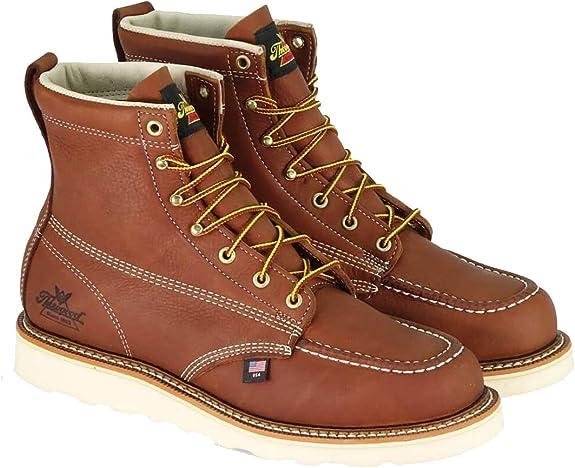 Thorogood MOC TOE Men's Shoes Light Brown: : Schuhe