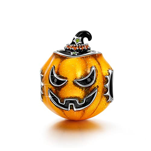 NINAQUEEN Charm Encaja con Pandora Halloween Jack O Lantern ...