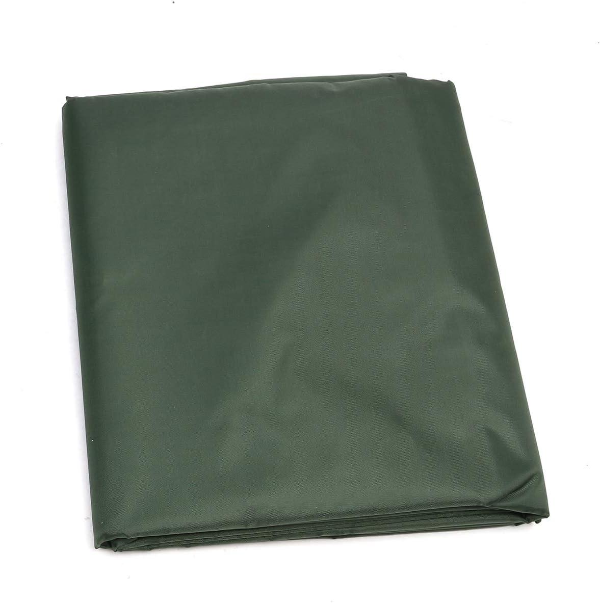 MXBIN 82x111x116cm Army Green Cortacésped Cortadora de polvo Lluvia impermeable Protección UV Nueva decoración de repuestos