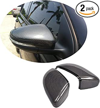 Amazon Com Mcarcar Kit Mirror Cover Fits Volkswagen Vw Golf Vi Gti Mk6 R20 Hatchback 2010 2014 Replacement Carbon Fiber Cf Rearview Side Rearview Mirror Caps Car Exterior Outside Shell Automotive