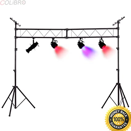 COLIBROX Portable DJ Light Truss Stand System Stage Lighting Stands T Bar Extra