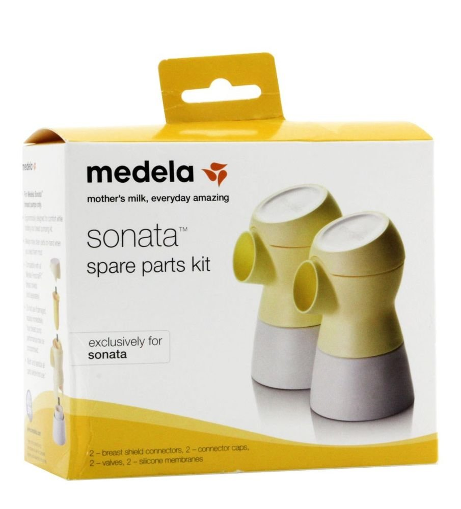 Medela Sonata Smart Breast Pump with Two Additional Spare Part Kits