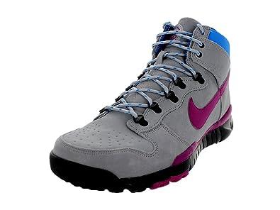 big sale 1cbec e63d8 Amazon.com   Nike Men's Dunk High Oms Prm Wolf Grey/Rave ...