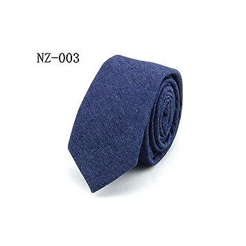 rbocot Corbatas Para Hombres Corbatas De Algodón De Mezclilla ...