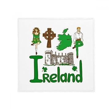 Amazon.de: DIYthinker Irland Nationales Symbol Zeichen Muster Anti ...