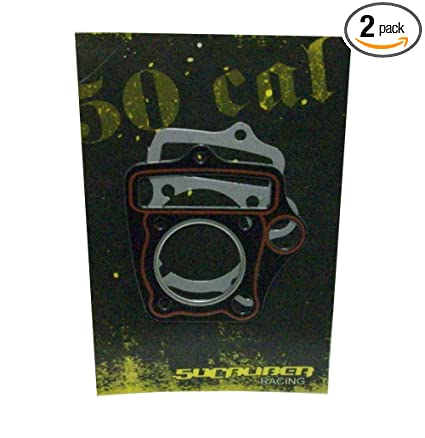 50 Caliber Racing 52mm Head Gaskets for 110cc and 125cc Lifan Engines, Pit  Bikes, Atv, Pocket Bike, Go Karts, and Mini Choppers