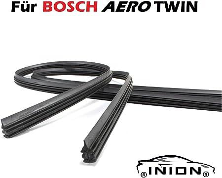 600 600 2x Wischergummi Scheibenwischer Gummis Ersatz Kompatibel Mit Bosch Aerotwin Scheibenwischer Inion 2x Ersatzgummi 600mm 600mm Auto