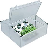 Outsunny Invernadero de Jardín Aluminio Policarbonato Transparente Vivero