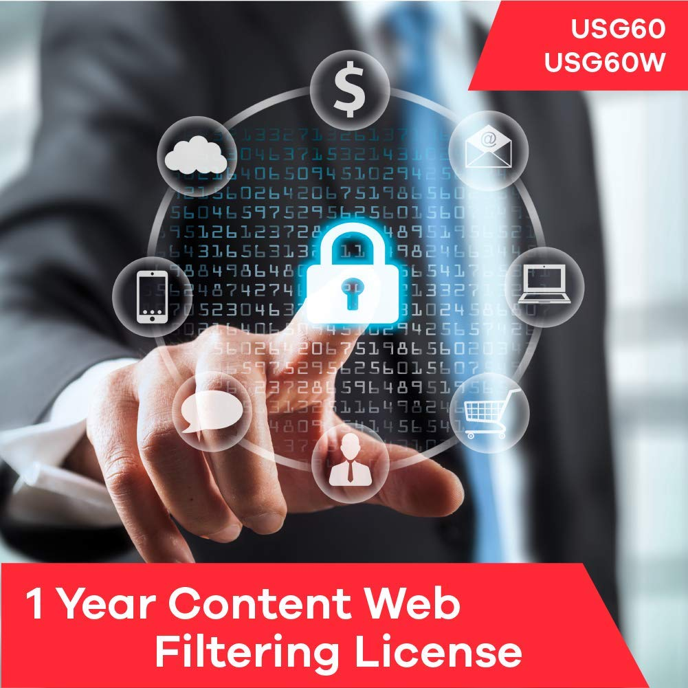 Zyxel Content Web Filtering Subscription License (1 Year) for USG60 | USG60W by Zyxel