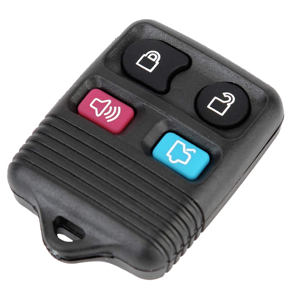 GQ43VT11T Remote Entry Transponder CWTWB1U331 Keyless Remote EDLUX 4 Button Key Fob Replacement Compatible for Ford Explorer