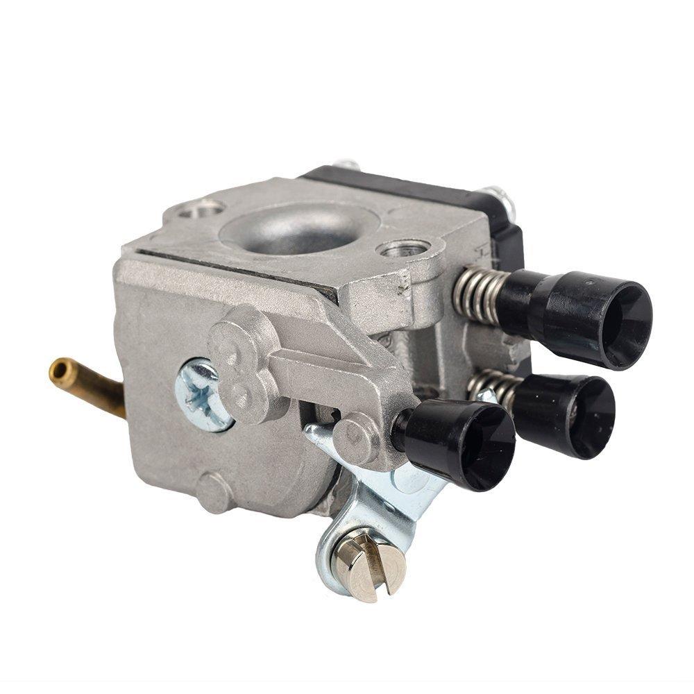 OuyFilters C1Q-S97 Carburetor with Air Filter Fuel Line Kit for STIHL FS38 FS45 FS46 FS55 FS45C FS46C FS55C FS55R FS55RC Trimmer KM55 KM55C kombi motor