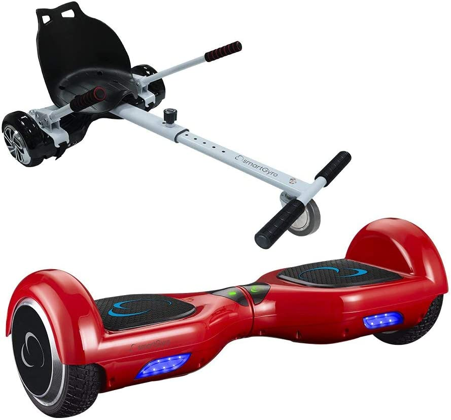 SMARTGYRO X1S RED + GO KART PACK