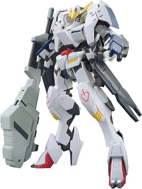 Amazon Com Bandai Hobby Hg Ibo 1 144 Barbatos Form 6 Gundam Iron Blooded Orphans Action Figure Toys Games