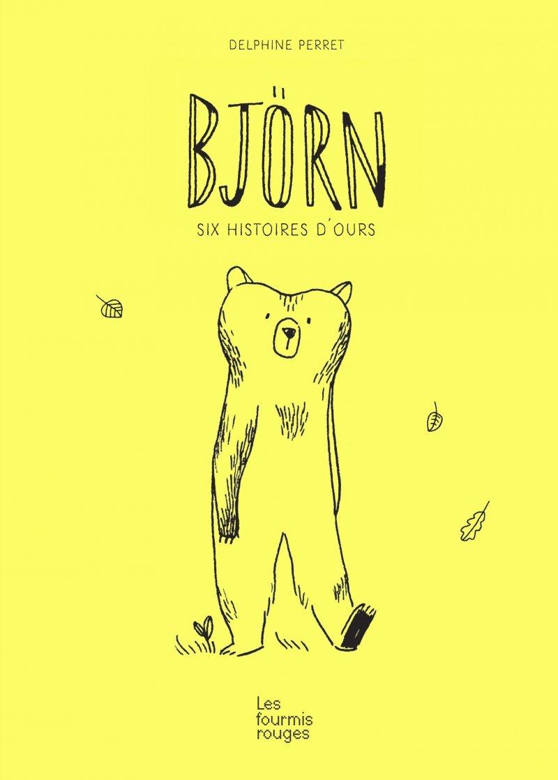 Bjorn, 6 histoires d'ours de Delphine Perret 61JElobSWQL