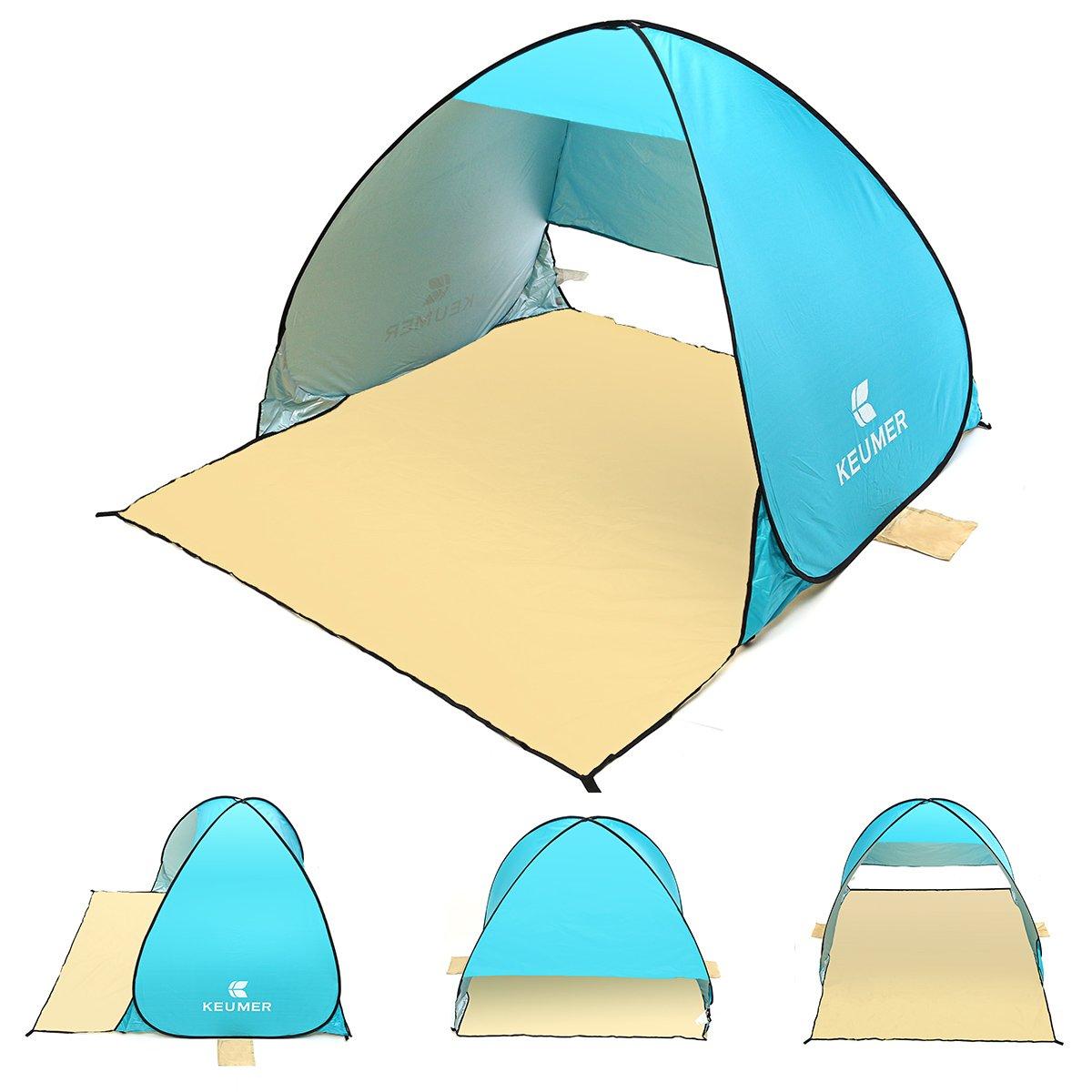 Plat Firm 150x180x110 cm Pop Up Outdoor Camping Angeln Zelt Anti-Uv Wasserdicht Lüftung Shelter Zelt