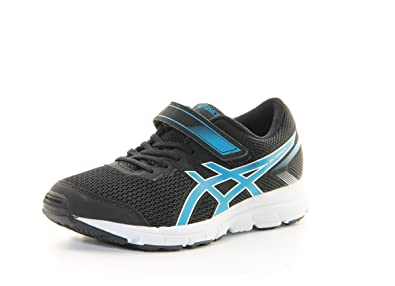 ASICS Gel-Zaraca 5 PS, Zapatillas de Gimnasia Unisex niños, Nero (Black/Blue Jewel/White), 28.5 EU: Amazon.es: Zapatos y complementos