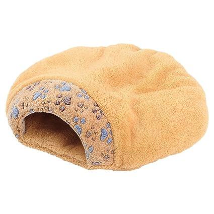 Steaean Cama del Animal doméstico Gato litro Gato Saco de Dormir pequeña Pata impresión Gato Saco