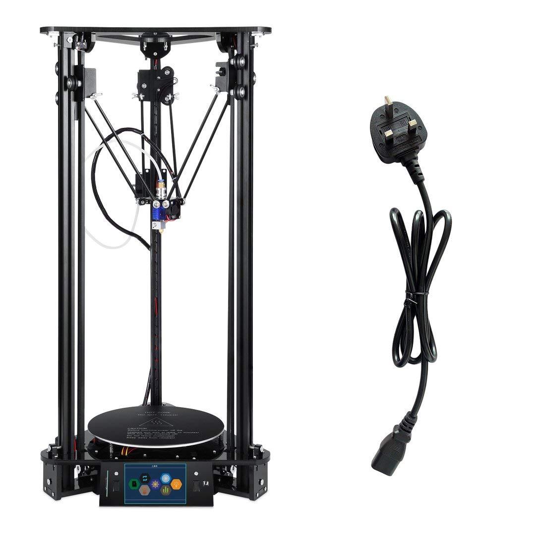 Sairis EZT T1 Plus Touch Screen 3D Printer Intelligent Leveling ABS PLA 3D Printer(Black)