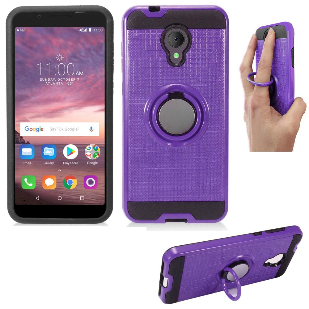 Phone Case for Tracfone Alcatel TCL-LX, Alcatel IdealXtra Case,1X-Evolve  Case (5 3