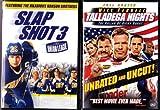 Talladega Nights , Slap Shot 3 : Sports Comedy 2 Pack