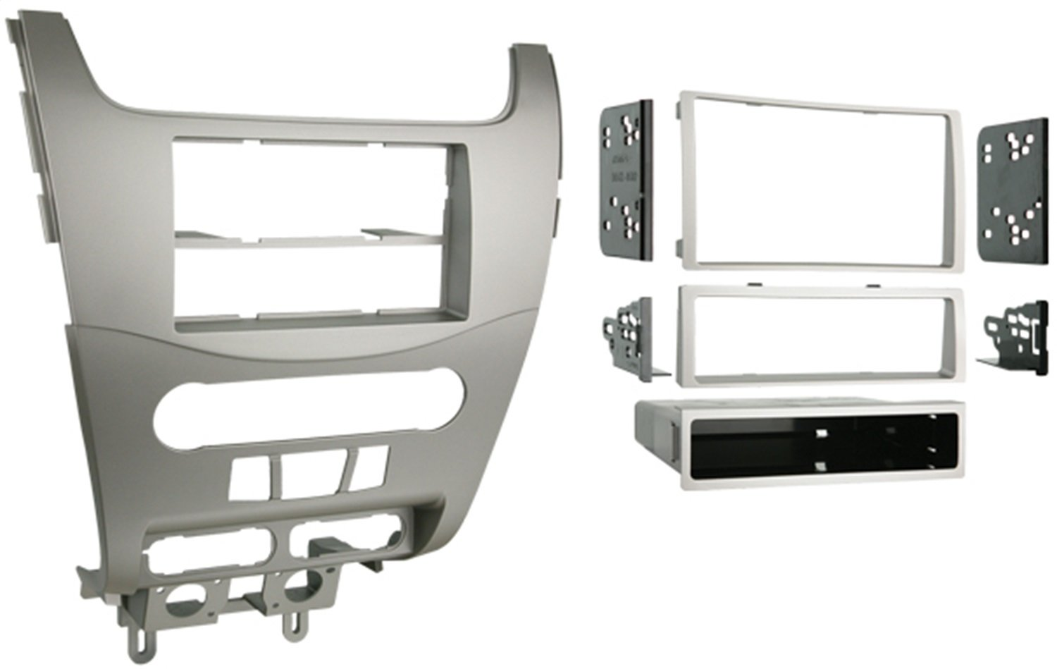Metra 99-5816 Single or Double DIN Installation Kit for 2008-2009 Ford Focus (Black) Metra Electronics Corporation