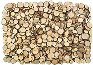 Eduplay Natural Wooden Discs for Handicrafts 1000 g