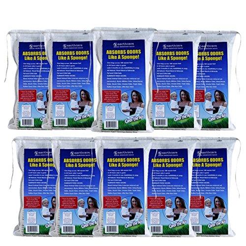 Earth Care Odor Removing Bag Stinky Smells Pet odor etc (10 pack)