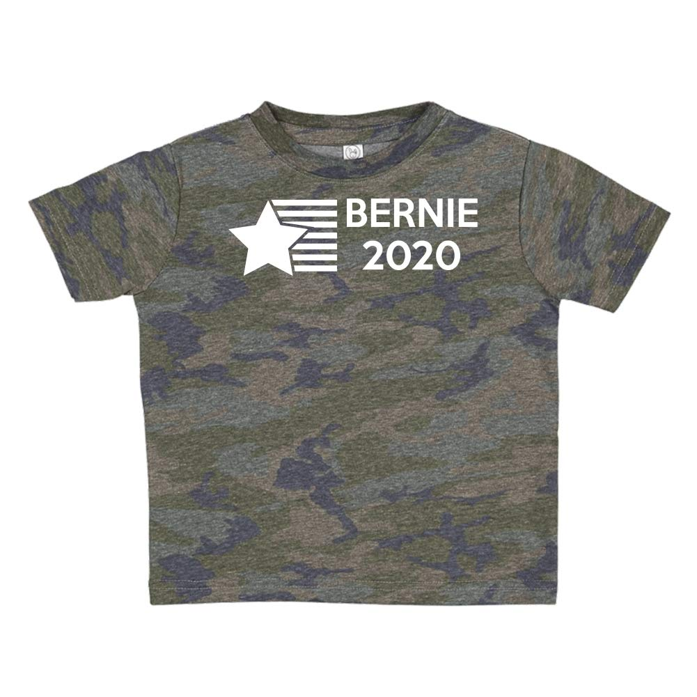 Presidential Election 2020 Toddler//Kids Short Sleeve T-Shirt Mashed Clothing Bernie 2020 Star//Stripes