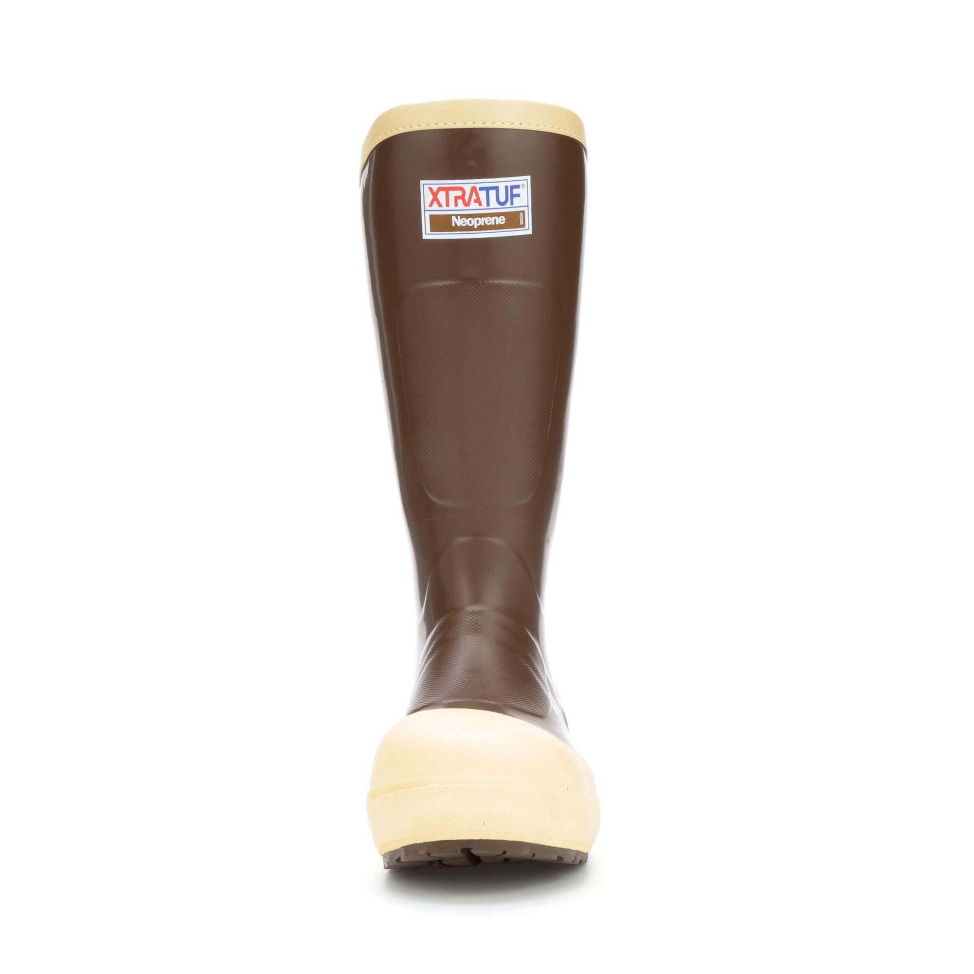 XTRATUF Legacy 2.0 Series 15'' Neoprene Composite Toe Men's Fishing Boots, Copper & Tan (22292G) by Xtratuf (Image #4)