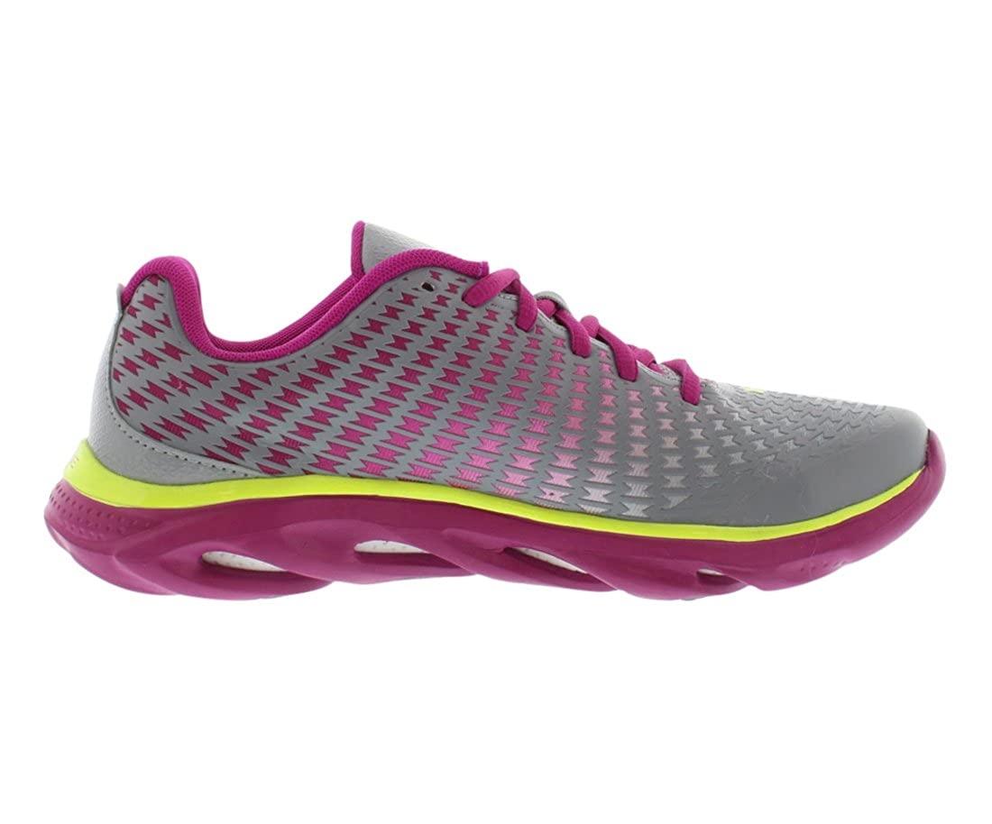 Under Armour Big Girls Grade School UA Spine Clutch Running Shoes Steel