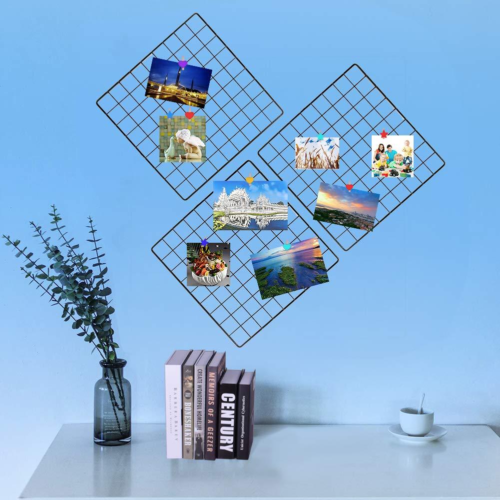 WXJ13-100 pinzas de madera con forma de corazón para fotos y estrella con 12 piezas de 10 m de cordón de papel colorido para manualidades: Amazon.es: Hogar
