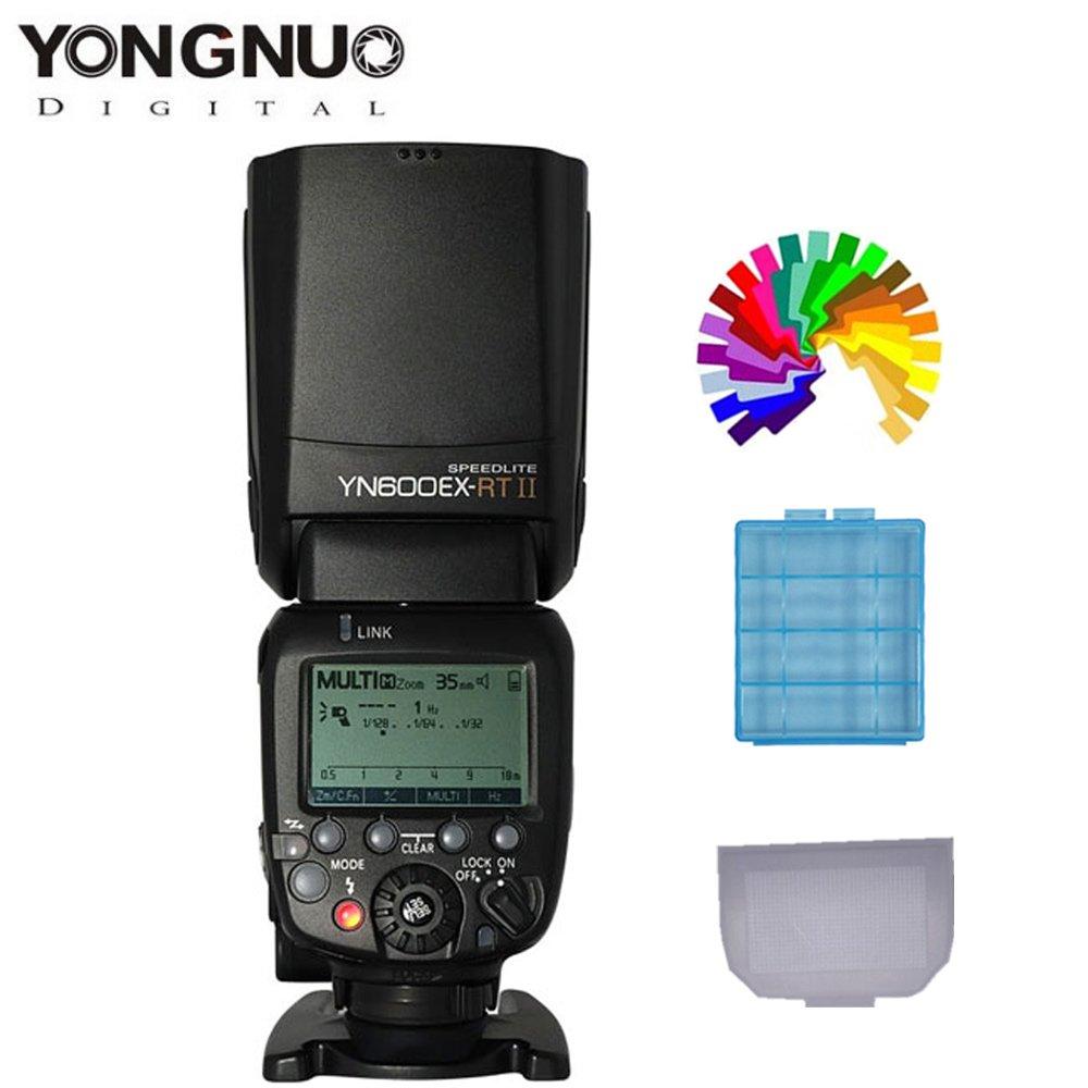 YONGNUO YN600EX-RT II Flash Speedlite for Canon DSLR Camera Wireless TTL High Flashes(Update Of yn600ex-rt)