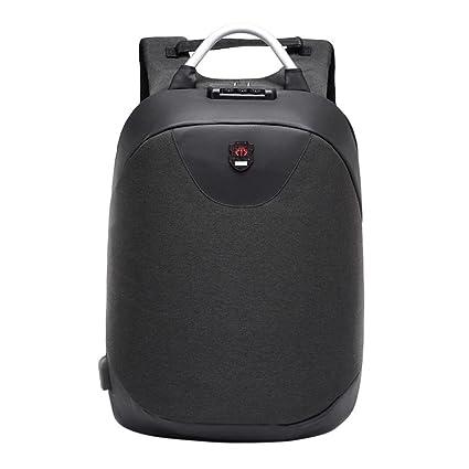 Bolso de alta capacidad del ordenador portátil de la mochila antirrobo multifuncional de la moda con el USB ☚Longra: Amazon.es: Alimentación y bebidas