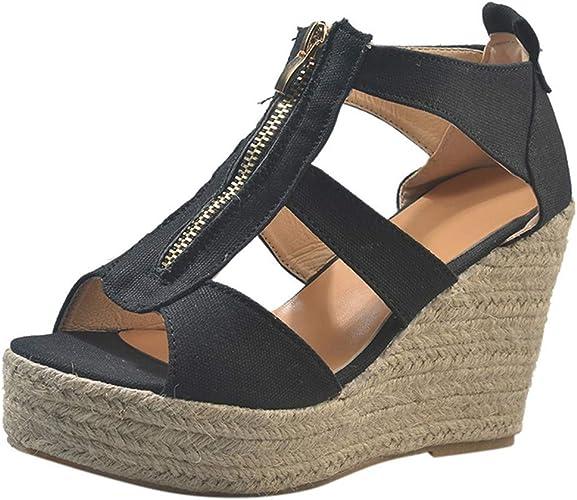 Women Open Toe Wedge Sandals Ladies
