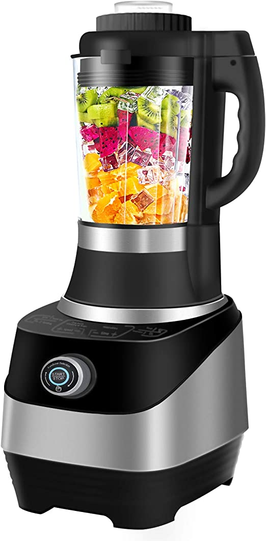 Commercial Blender With Smart Touch Multifunctional Blender 4 In 1 Smoothie Blender Baby Food Maker Soup Maker 800w Auto Temperature Control Food
