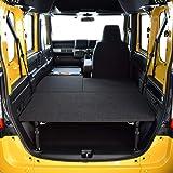 ホンダ N-VAN 車中泊 専用 ベッドキット ブラック パンチカーペット タイプ 車中泊マット