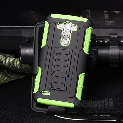 39 opinioni per LG G3 Custodia, Cocomii Robot Armor NEW [Heavy Duty] Premium Belt Clip Holster