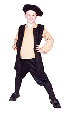 Amazon Com Ovedcray Renaissance Boy Costume Peasant Medieval Child